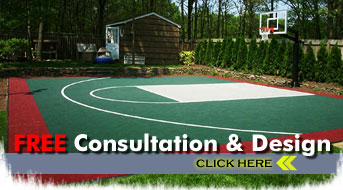 We Can Now Offer Existing And Future Customers In Atlanta, Georgia Basketball  Courts Custom Designed For Their Backyard Sports Areas.