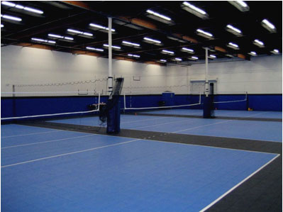 Volleyball Court Flooring, Modular Tile Atlanta